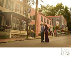New Hope Engagement photography, Kate Leigh Photographer, downtown New Hope