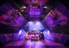 For Me For You. Royal Court. Scenic design by Jon Bausor.
