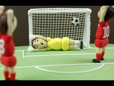 How to make a sugar football/soccer goal - YouTube