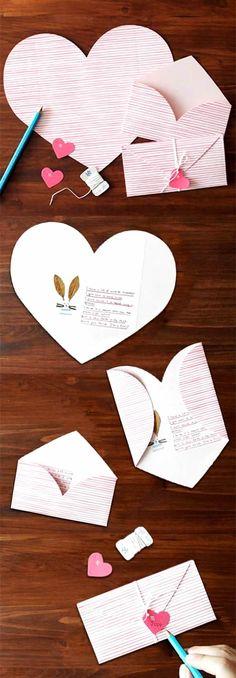 Diy Paper, Paper Crafts, Papier Diy, Unique Cards, Stationery Set, Letter Stationery, Love Letters, Diy Cards, Diy Gifts