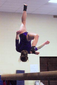 Gymnastics - 2015 Beam - Marion High School Sports, Marion, IN