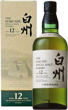 The Hakushu 12 Year Old Japanese Single Malt Whisky | @Caskers