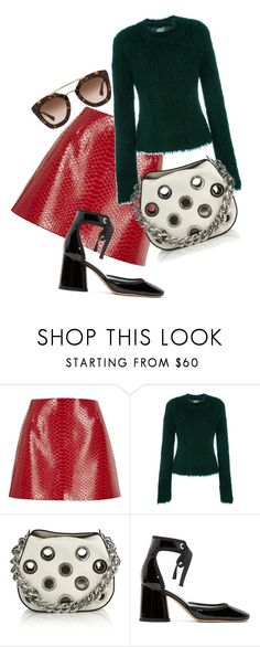 """ABC"" by liekejongman on Polyvore featuring River Island, Yohji Yamamoto, Prada and Marc Jacobs"