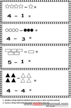 24 En Iyi Basit Toplama Islemi Goruntusu Okul Oncesi Matematik