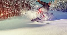 telemark ski powder face shot! -Meyer Felix