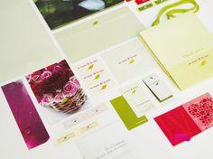 Agence Cécile Halley des Fontaines - Global design agency - Au Nom de la Rose — Flower Shop — branding