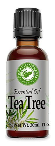 Tea Tree Essential Oil  Tea Tree Oil Aceite Esencial Arbol del T 1 OZ 30ml 100 Pure Australian from Creation Pharm >>> Check this awesome product by going to the link at the image.