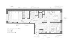 Amenajare 2017 - un apartament de 2 camere si 60 mp- Inspiratie in amenajarea casei - www.povesteacasei.ro