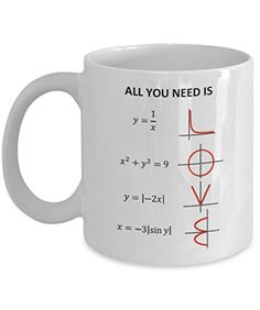 Math / Engineering Mugs - All You Need Is Love - Ideal Ma... https://smile.amazon.com/dp/B01LYXTWGS/ref=cm_sw_r_pi_dp_x_KbTLybFWQVH5S