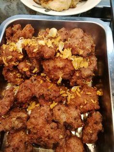 สูตร หมูสับทอดกระเทียม พร้อมวิธีทำโดย Sarah Nisarat - Wongnai Cooking Thai Cooking, Tandoori Chicken, Side Dishes, Meat, Ethnic Recipes, Food, Meals, Side Dish, Appetizers