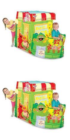 Muppets Sesame Street 2627 Playhut Unisex Kids Sesame Street Hoopers Store Tent -u003e BUY  sc 1 st  Pinterest & Muppets Sesame Street 2627: Sesame Street Play Tent Toddler Kids ...