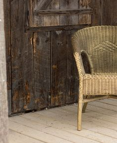 TriBeCa Gold Wicker Chairs