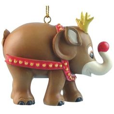 ELEPHANT PARADE - Ornament - Rudolph 5cm