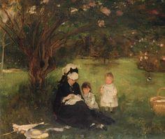 Berthe MORISOT «Les Lilas à Maurecourt»