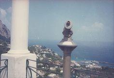 """Luigi Ghirri. """"Capri"""". 1981. Capri, Naples, Italy."""