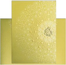 Exclusive Royal Indian Wedding Card http://www.theweddinginvitationcards.com