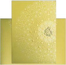 Exclusive Royal Indian Wedding Card