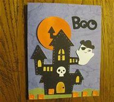 Halloween card. I love this!  #Cricut