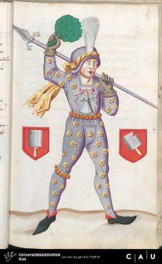 Nürnberger Schembart-Buch Erscheinungsjahr: 16XX  Cod. ms. KB 395  Folio 88