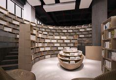 Tongji Bookstore Interior  Archi Union