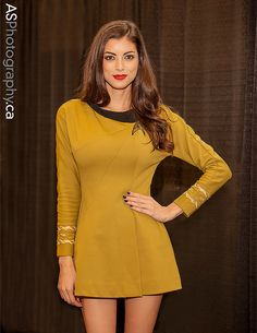 VAMPTRESS LeeAnna Vamp from I Love NERD Girls | NFCC Niagara Falls Comic Con 2013 #Star Trek #Cosplay