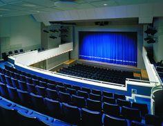 Castle Theatre, Wellingborough - view from auditorium