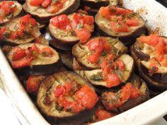 Melanzane alla sarda ( Vinete in stil sardinian) - imagine 1 mare Couscous, Bruschetta, Eggplant, Zucchini, Catering, Treats, Vegetables, Ethnic Recipes, Food