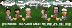 Hollywood Undead bunnies! (I know that it's not Easter, don't judge me! XD)