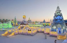 Held every year in the country's north-eastern region, (where cold Siberian winds guarantee freezing cold lows of -30 degrees centigrade in the winter), the city of Harbin is transformed for the whole of January into a kingdom fit for the Snow Queen, and draws thousands of tourists every Christmas (when the ice sculpting starts).