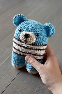 Free bear pattern from Lanukas #crochet #amigurumi