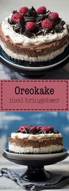Recipe for Oreokake – Cake Types Pastry Dishes, Pastry Recipes, Apple Sour Cream Cake, Vegan Shortbread, Oreo Cake Recipes, Tree Cakes, Types Of Cakes, No Bake Cake, Food And Drink
