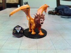3D models for every D&D monster Game Creator, Manticore, 3d Printing, Cool Designs, Objects, Prints, Dragons, Models, Impression 3d