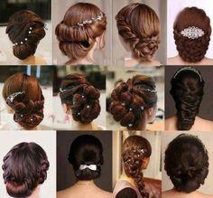 Wedding-Bridal-Party-New-Stylish-Beautiful-Hairstyles-Fashion-for-Girls-Women-11