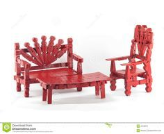 Red Clothespin Furniture - Download From Over 45 Million High Quality Stock Photos, Images, Vectors. Sign up for FREE today. Image: 4318973