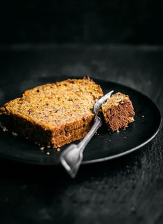 Healthy Carrot Bread with Dates and Olive Oil| Occasionally Eggs