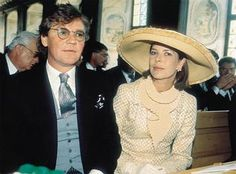 Prince Ernst of Hanover and his wife Princess Caroline of Monaco
