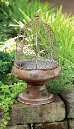 There is always a perfect place in the garden for a beautiful item like this vintage style planter.