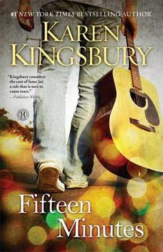 Fifteen Minutes by Karen Kingsbury. Zack Dylan will do whatever it takes to achieve a successful singing career, but as his star rises, Zack is often asked to compromise his beliefs, and just as he's on the verge of winning it all, his choices lead him to the brink of personal disaster. Alana recommends. Christian | Fiction