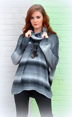 Black & White Sweater #SophieandMollies #Sweater #black #white #shop #boutique #fall #2015 #chapelhill #apex