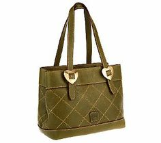 Dooney & Bourke Quilted Florentine Leather Small Satchel