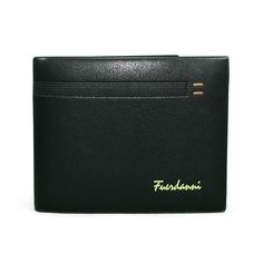 Pocket this stylish, black wallet for men from Wallsters and get appreciated for your classy choice! This wallet will serve you for years to come. Featuring multiple pockets and slots, this wallet will allow you to keep your cash and cards with ease. Black Wallet, Wallets, Card Holder, Classy, Pockets, Stylish, Cards, Men, Rolodex