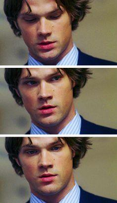 """Jared Padalecki as Sam Winchester - Supernatural - 3x05 - """"Bedtime Stories"""""""