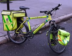 St John Ambulance bike