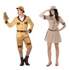 Pareja Exploradores de la Selva #parejas #disfraces #carnaval