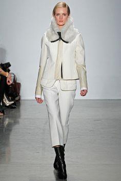Winter White: Reed Krakoff Fall Winter 2012 13