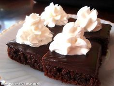 Šťavnatý koláč s čokoládou