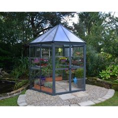 7 Ft. W x 8 Ft. D Hobby Greenhouse