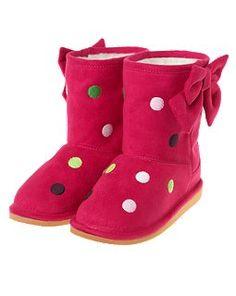 Super cute boots for both girls! Pups & Kisses - Gymboree