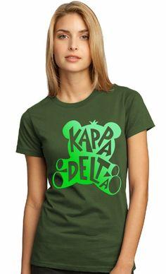 Kappa Delta Symbol Name T-Shirt