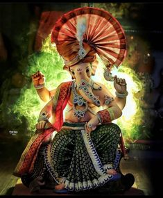 Shri Ganesh Images, Ganesha Pictures, Krishna Images, Lord Ganesha Paintings, Ganesha Art, Baby Ganesha, Hipster Wallpaper, Disney Wallpaper, Hd Wallpaper